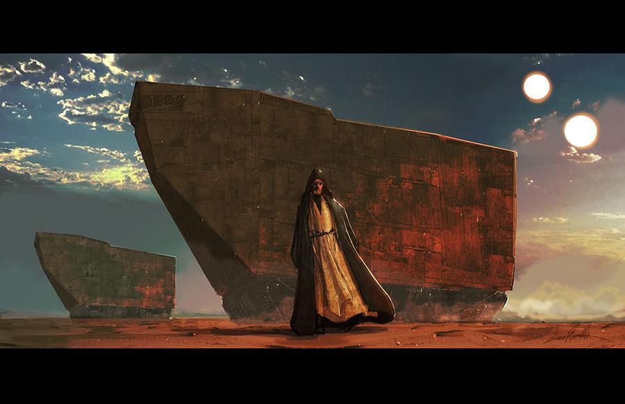 Tatooine at Dusk